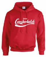 ENJOY CUMBERBATCH HOODIE - INSPIRED BY BENEDICT CUMBERBATCH SHERLOCK HOLMES